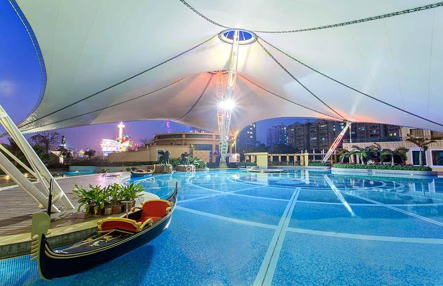 Hotels in Shenzhen-things to do-The Venice Raytour Hotel