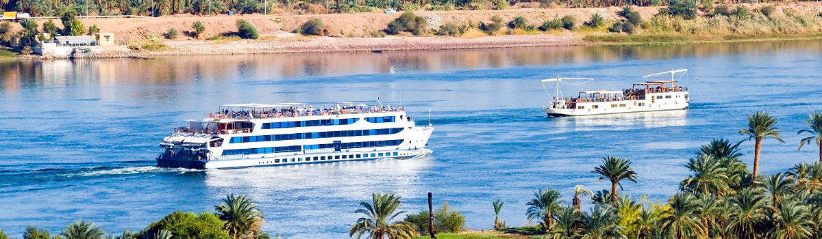 Featured photo-cruise ship on Nile River-attractions in Egypt