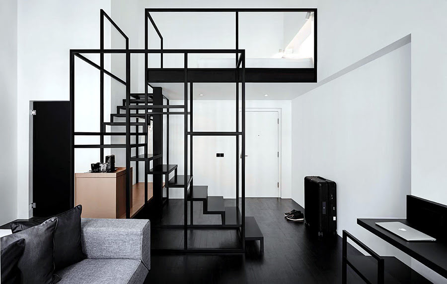 Hotels with black and white themes-Hotel Mono-Singapore