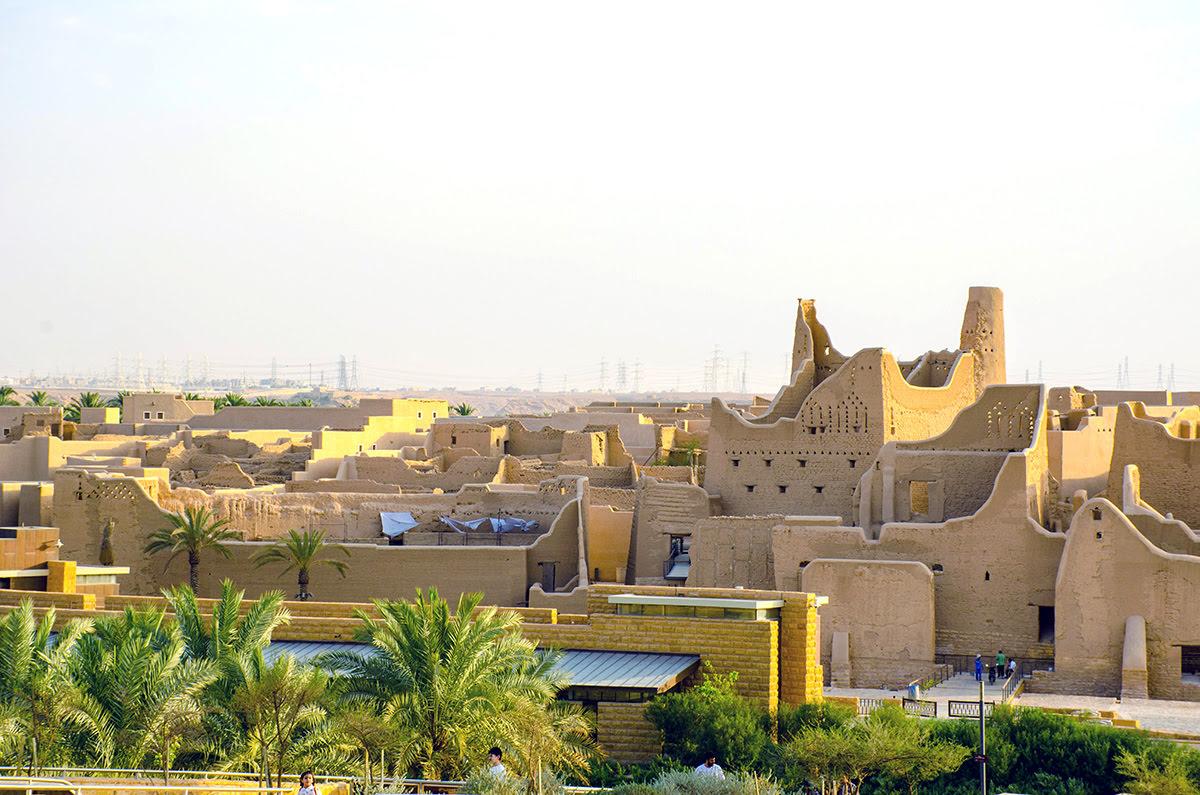 Landmarks in Saudi Arabia-historic sites-Ad Diriyah