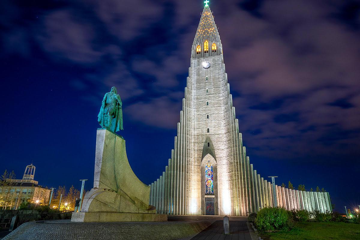 Architecture in Iceland-Hallgrimskirkja