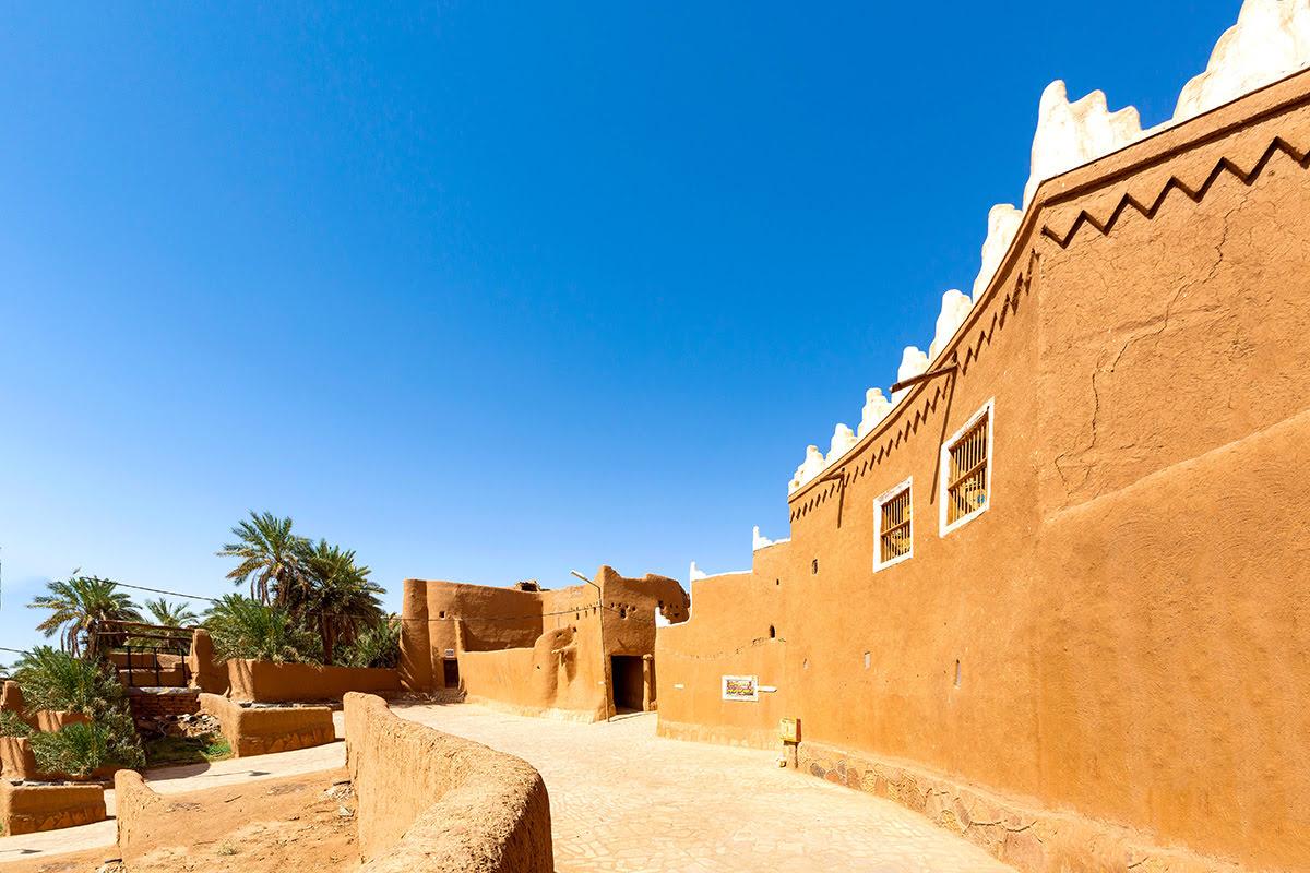 Landmarks in Saudi Arabia-historic sites-Ushaiqer Heritage Village