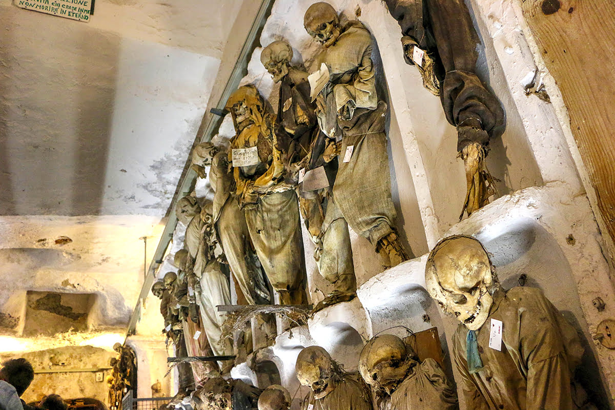 Things to do in Sicily-Italy-Catacombs of the Capuchins-Catacombe dei Cappuccini