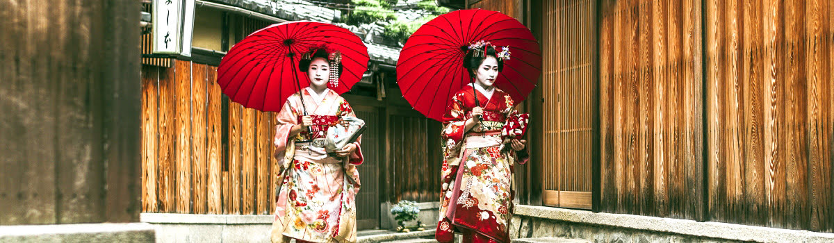 Featured photo-Geisha girls-Gion-traditional houses for rent in Kyoto