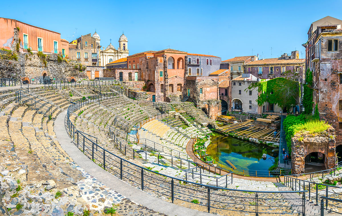 Things to do in Sicily-Italy-Roman Theatre of Catania