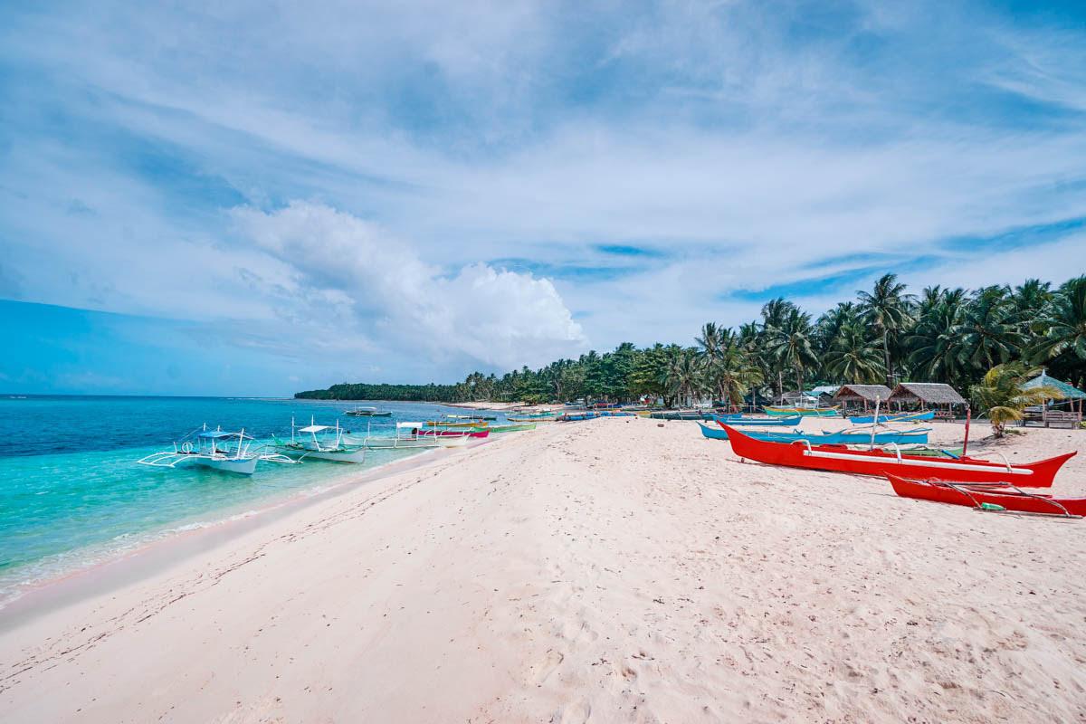 Things to do in Siargao Island-a beautiful beach