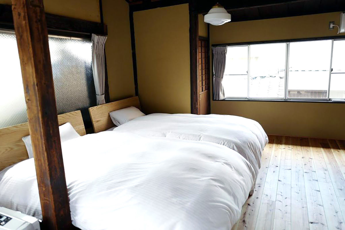 Traditional houses in Kyoto-machiya-rental homes-Traditional House for 3 Honmachi Shin 5chome South