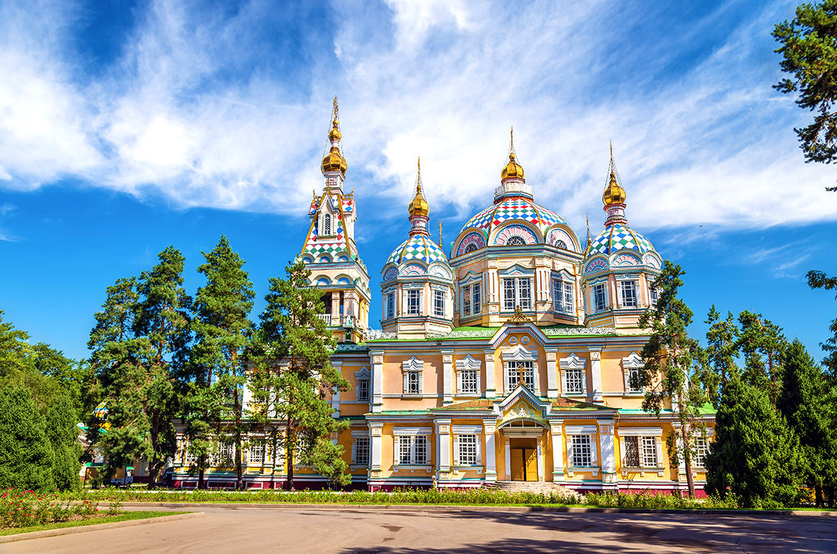 Things to do in Kazakhstan-Ascension Cathedral-Zenkov's Cathedral