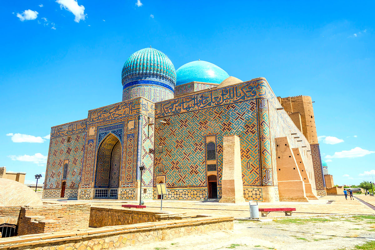 Things to do in Kazakhstan-Turkistan-Mausoleum of Khoja Ahmed Yasawi