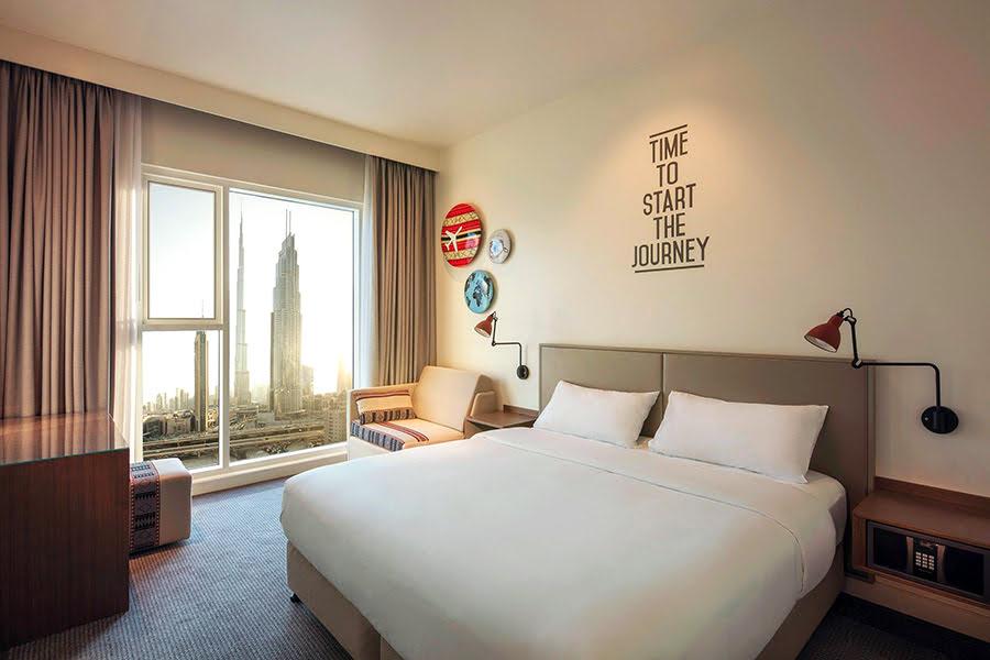 Hotels near Dubai Mall-UAE-United Arab Emirates-shopping-Rove Downtown