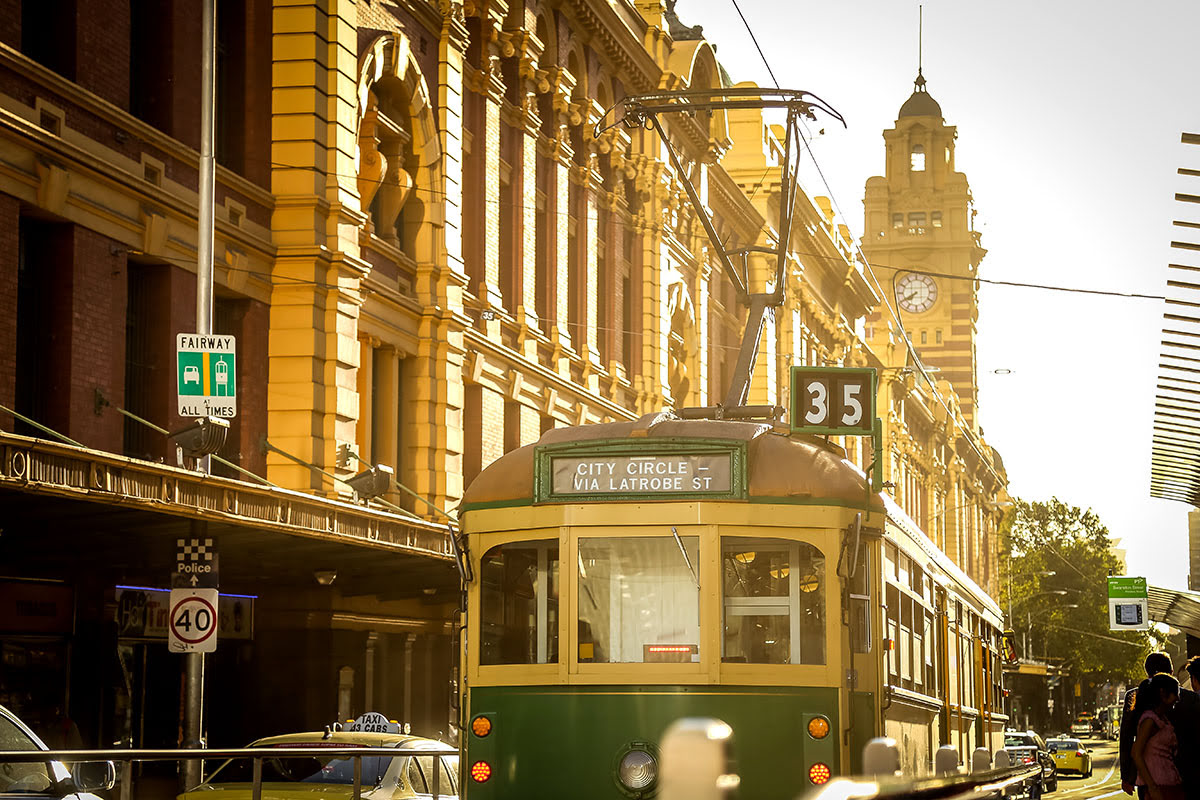 Things to do in Melbourne-Australia-City Circle Tram