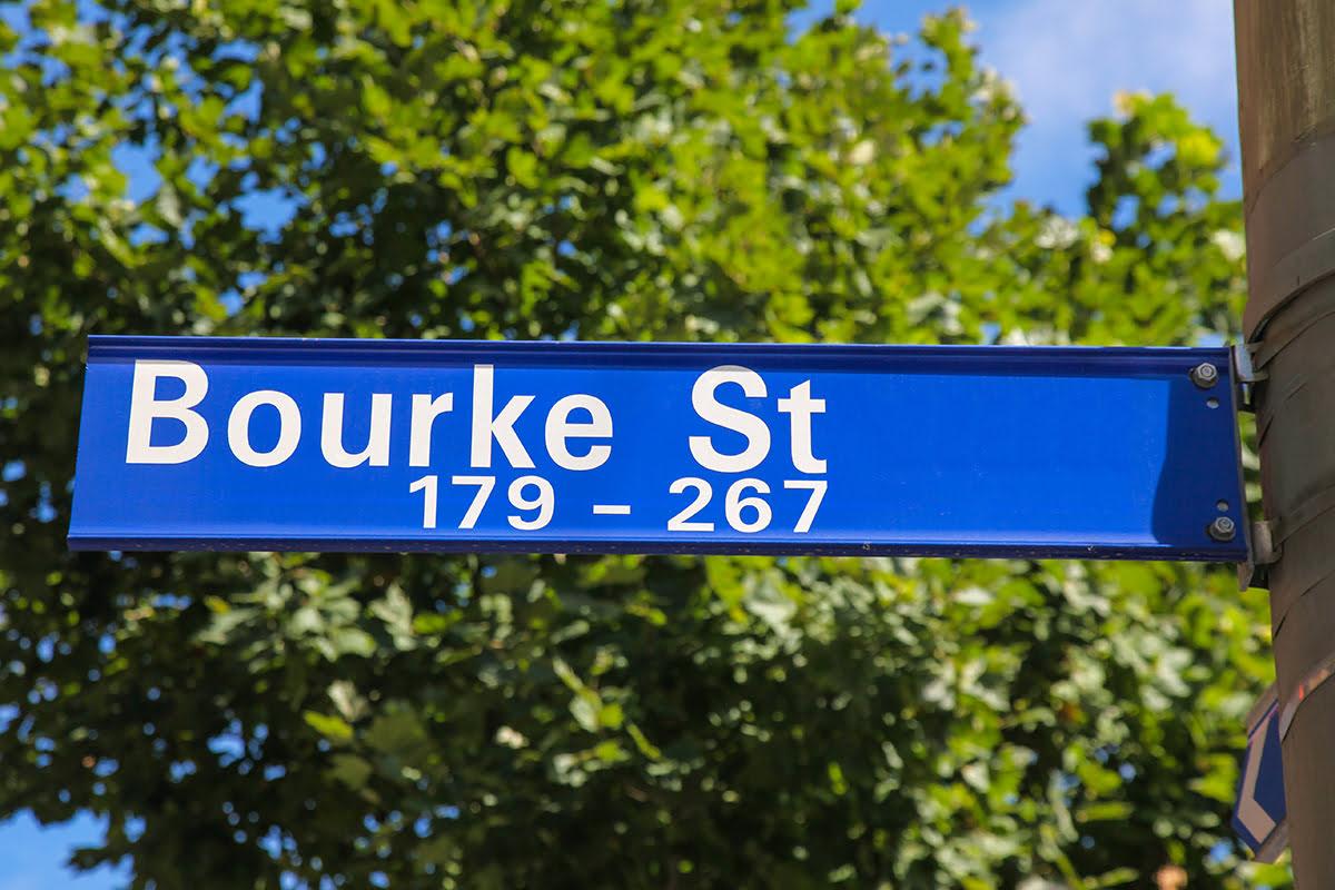 Shopping in Melbourne-Australia-Bourke Street Mall