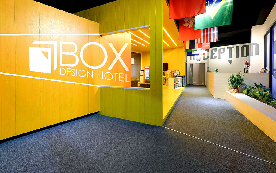 Hotels in Taichung-things to do-Taiwan-Taichung Box Design Hotel