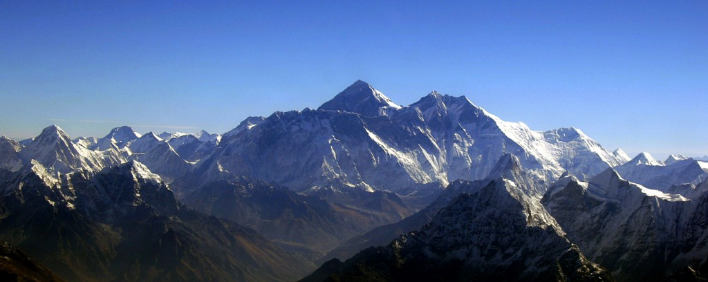 the New Jerusalem is the Reflection and Consummation of the type in the Garden of Eden(picture: a Bird's Eye View of the Mount Everest, via mountain7)