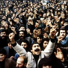 Psalm 2 in the light of God's systems of grace and of government(1) - the nations are in open rebellion! [picture source: BBC, the recent Iran Revolution]