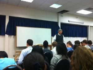 I want to live according to the spirit! The Son of God is in my spirit! (2011 winter school)