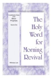 Crystallization Study of Minor Prophets