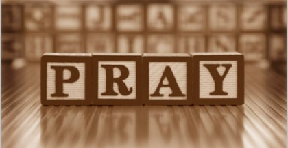 seeing our responsibility as the church and rising up to pray fighting prayers!