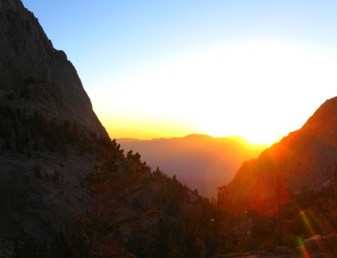 The Iniquity of the Sanctuary - We Need to Take Heed to How we Build [Picture: Sunset in Montana, USA]