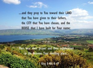 Praying Toward God's Interests so that God would Listen to Our Prayer