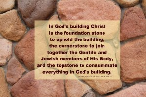 Enjoying Christ as the Topstone of Grace for the Completion of God's Building