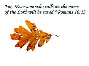 Calling on the Name of the Lord is our Spiritual Breathing in our Christian Life