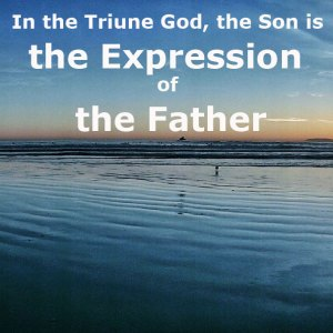 In the Triune God, Christ the Son is the Expression of the Father (part 2)