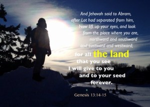 The Land Promised to Abraham is a Type of the All-Inclusive Christ in whom we Walk