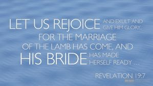 Letting Christ Live in us (our Wedding Garment) and Shining out Christ (our Beauty)