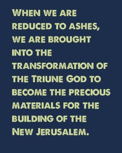 Taking Christ as our Burnt Offering to Have an Upper Room Consecration and Become Ashes