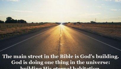 Jacob's Dream at Bethel was God's Dream: God's House!