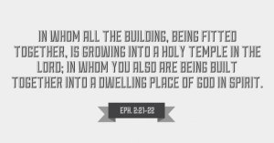 The Heading up of All Things in Christ Involves the Building up of the Church