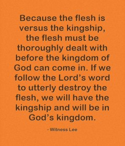 Seeing how the Flesh is in Rebellion against God and Radically Dealing with the Flesh