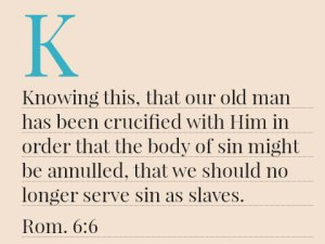 Seeing that the Flesh is the Leading Enemy Frustrating us from Going on with the Lord