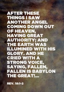 Christ will come as Another Angel to Take Possession of the Earth for His Kingdom