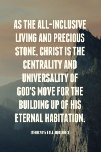Christ is the Tested Foundation Stone and Precious Cornerstone for God's Building