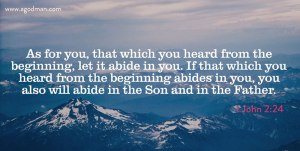 The Anointing: Eternal Life, the Word of Life, Jesus, Christ, the Father, and the Son