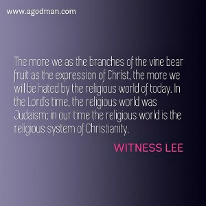 The Lord Knows our Tribulation, and He Knows Religion Opposes Christ and the Church