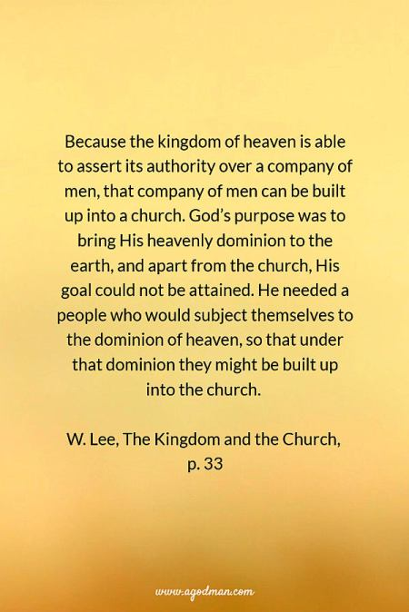 how to get into the kingdom of god