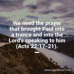 We need to Cooperate with the Lord through Prayer to Carry out His Move on Earth