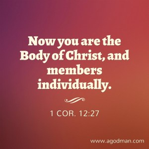 The Cross Leads us to the Body and the Cross Operates in the Sphere of the Body