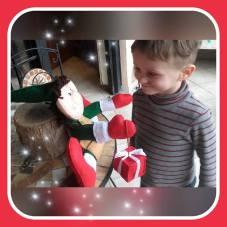 Elfo Natalizio e il mio Thomas allegro