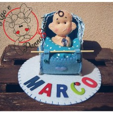 Cake topper Marco