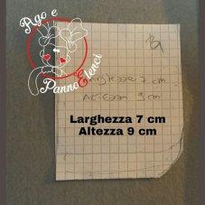 FIG. 7) CREARE ALTRO CARTAMODELLO PER LA TERZA TASCA