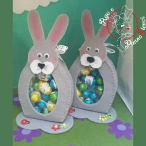 i simpatici Coniglietti porta ovetti!