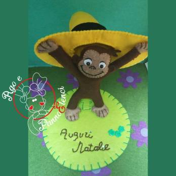 Cake topper Curioso Come George