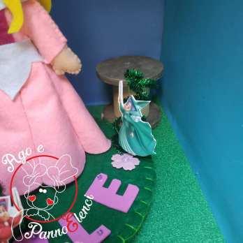 Principessa Aurora Cake Topper