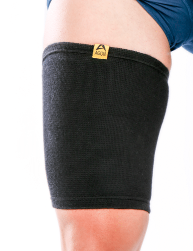 Agon Thigh Compression Sleeve Best Sports Support Injury Wrap Brace