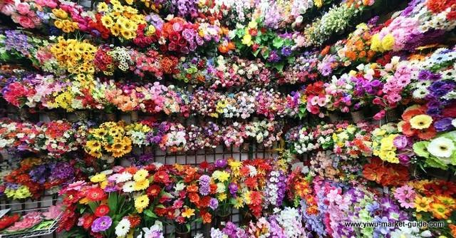 Artificial Flower Showrooms Yiwu China 2
