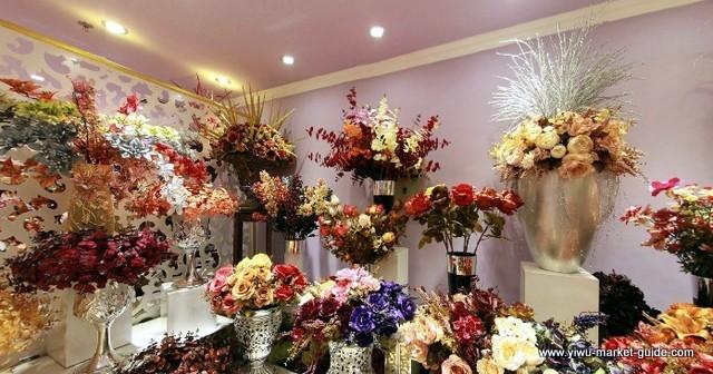 Artificial Flower Showrooms Yiwu China 6